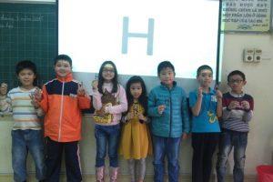 Khai giảng lớp học Robotic thứ 2 tại trường Tiểu học Trung Văn