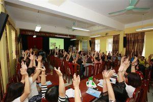 Tập huấn Giáo viên Năm học 2018 – 2019