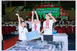 Kết quả cuộc thi Robothon cấp quốc gia – Năm học 2014-2015
