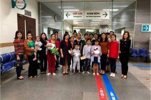 Thăm hỏi, tặng quà bệnh nhân tại bệnh viện K Tân Triều & viện huyết học truyền máu trung ương