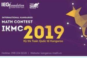 Thông báo kết quả Kỳ thi Toán Quốc tế Kangaroo 2019