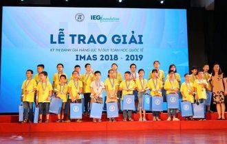 Tổng kết trao giải sân chơi quốc tế Imas