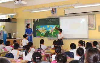 Tiểu học Trung Văn tổ chức thành công chuyên đề Luyện từ và câu lớp 3
