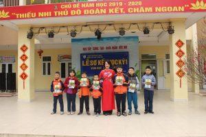 Trường Tiểu học Trung Văn – Tổ chức lễ Sơ kết học kì I năm học 2019 – 2020.