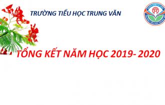 Tổng kết năm học 2019-2020